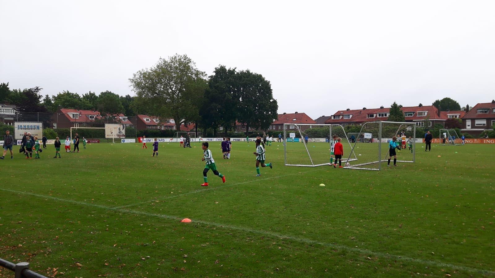 voetbal-Groen-Wit